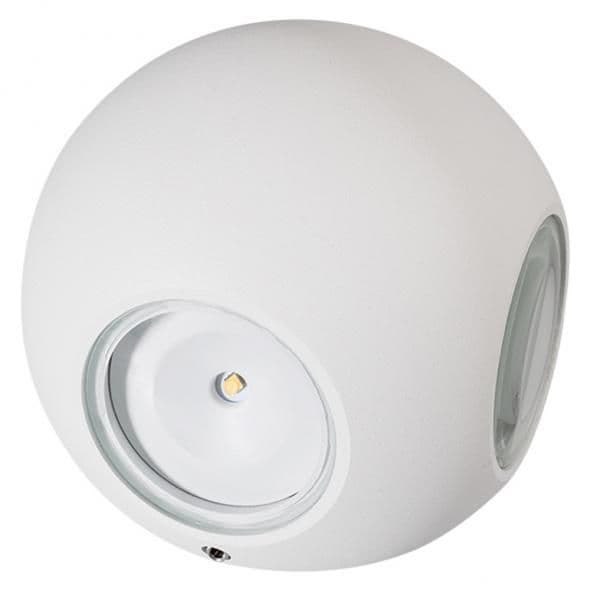 021819 Светильник LGD-Wall-Orb-4WH-8W Warm White. Коробка 1шт