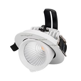 024028 Светильник LTD-EXPLORER-R100-12W White6000 (WH, 38 deg) (ARL, IP20 Металл, 3 года)