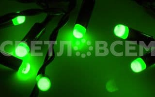 019843 Гирлянда ARL-BULLET-5000-50LED Green (220V, 5W). Коробка 1 шт