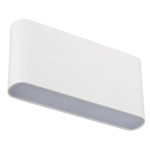 020802 Светильник SP-Wall-170WH-Flat-12W Warm White. Коробка 1шт